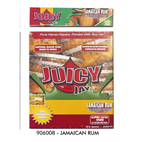@PAPEL JUICY JAY'S SLIM JAMAICA RUN (RON JAMAICA)(110MM)(24)