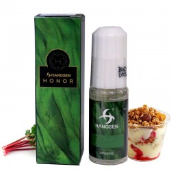 @LÍQUIDO HANGSEN HONOR RHUBARD&CUSTARD 12 MG 10 ML(NATILLAS)