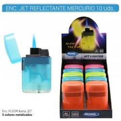 EXP 10 ENC ATOMIC MERCURIO JET FLAME REFRECTANTES