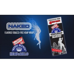 BLUNT HEMPaRILLO NAKED (NATURAL) (15X4)