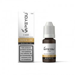LIQUIDO VAPEYOU TROPICAL LOVE 10ML 3MG
