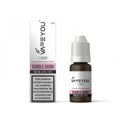 LIQUIDO VAPEYOU BUBBLE BOOM 10ML 6MG